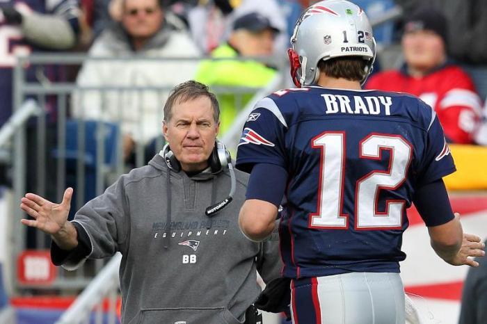 Bill Belichick Tom Brady