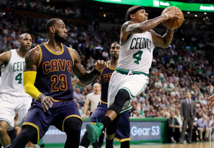 Isaiah Thomas, LeBron James