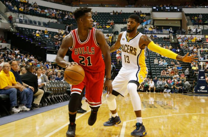 Jimmy Butler and Paul George