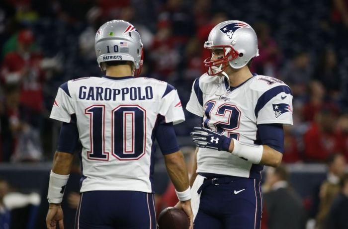 Jimmy Garoppolo Tom Brady