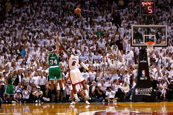 Paul Pierce LeBron James