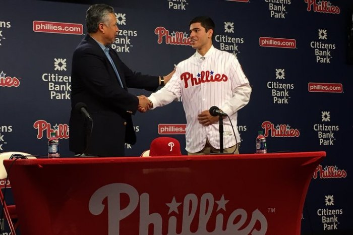 Adam Haseley Philadelphia Phillies
