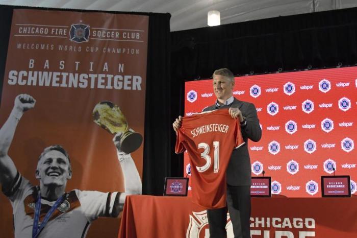 Bastian Schweinsteiger Chicago Fire All-Star