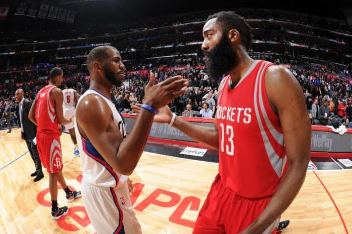 Chris Paul James Harden Houston Rockets