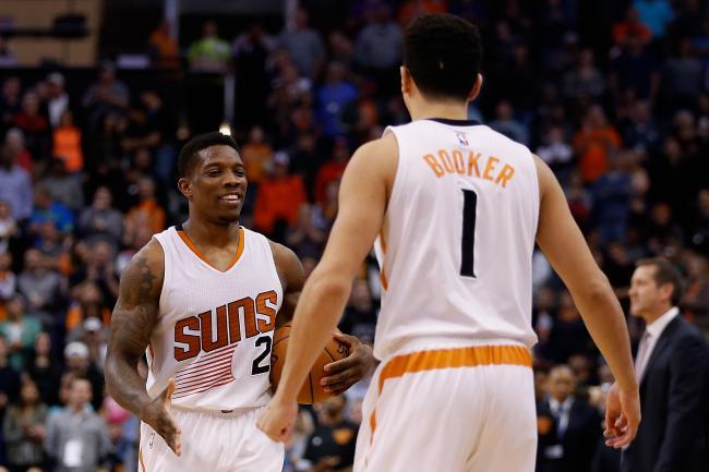 Devin Booker Eric Beldsoe Phoenix Suns