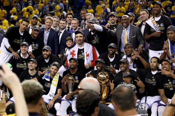 Golden State Warriors NBA Champions