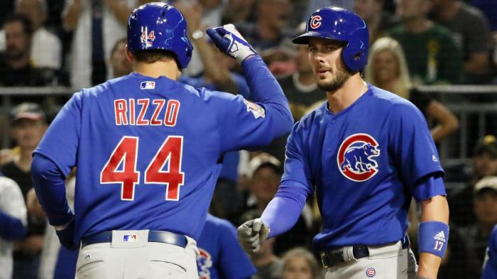 Kris Bryant Anthony Rizzo Chicago Cubs