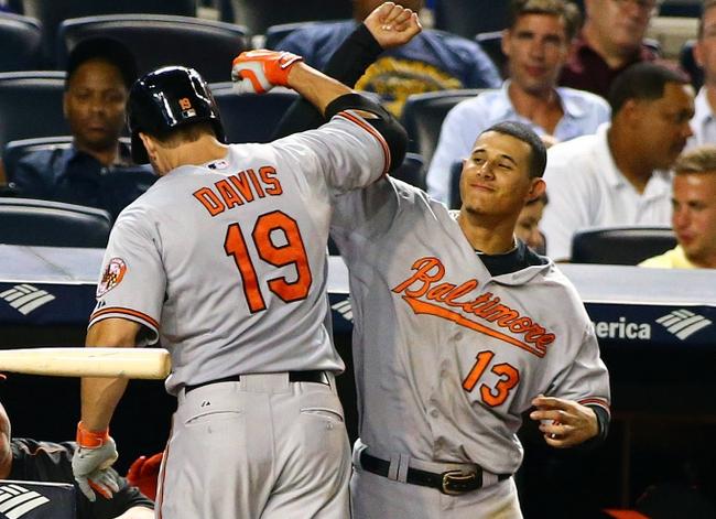Manny Machado Chris Davis Baltimore Orioles
