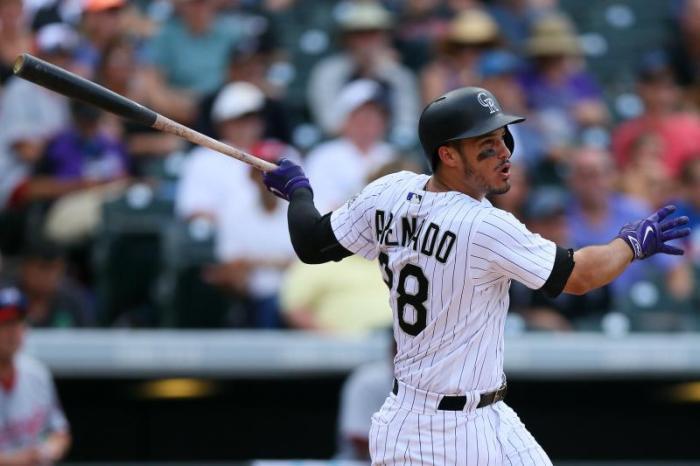 Nolan Arenado Colorado Rockies MLB Elite
