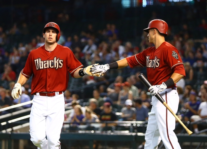Paul Goldschmidt Jake Lamb Diamondbacks