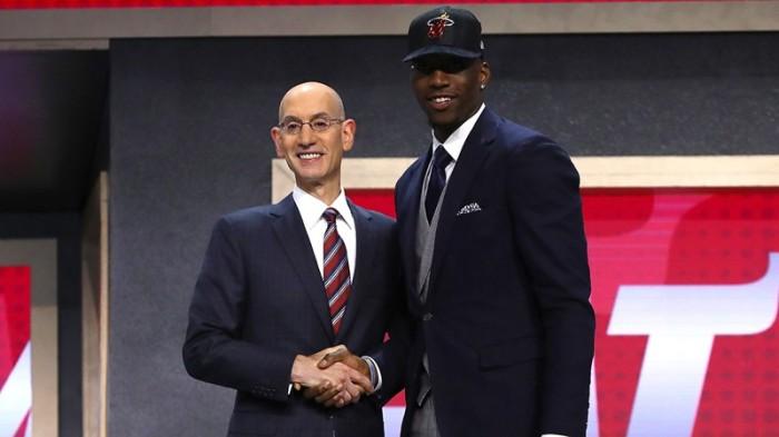 """Edrice """"Bam"""" Adebayo Miami Heat NBA Draft"""