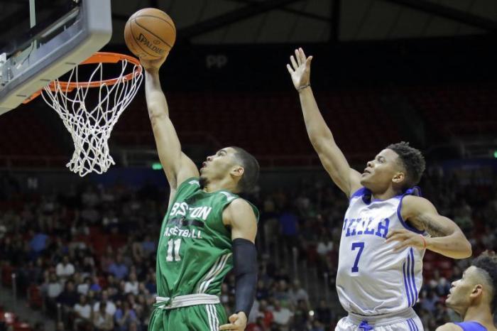 Jayson Tatum Boston Celtics Summer League