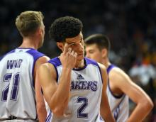 Lonzo Ball Los Angeles Lakers Summer League