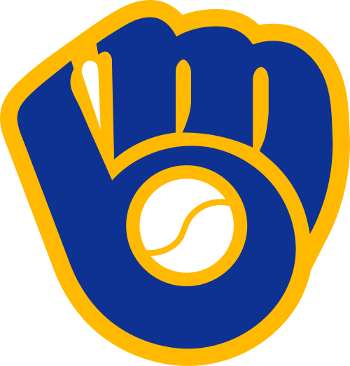 Image result for brewers ball and glove logo